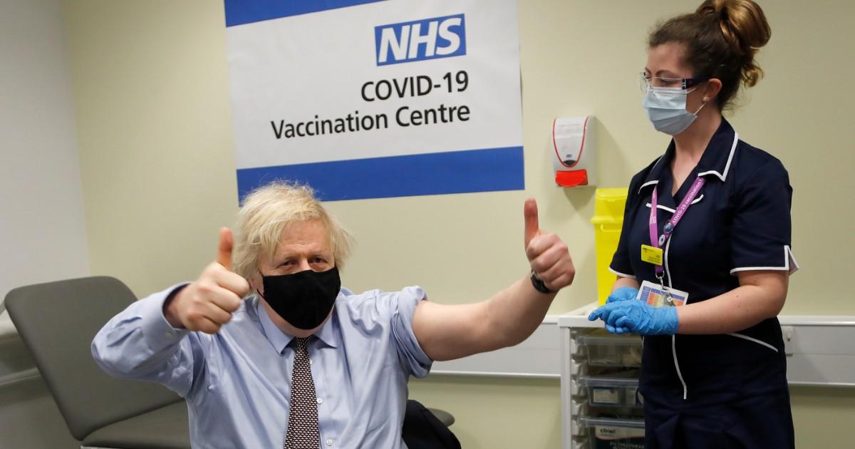 Regno Unito: raggiunto il traguardo di vaccinazioni COVID-19