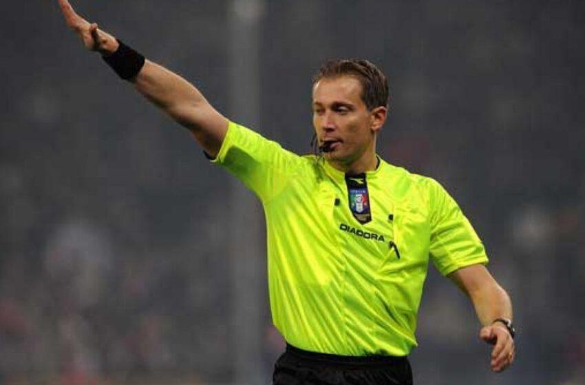 Calcio: gli arbitri designati per la 30^ giornata di Serie A
