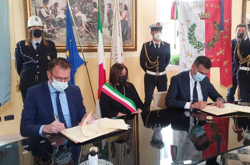 Bari e Matera verso il G20: ad Altamura la sigla dell'accordo istituzionale
