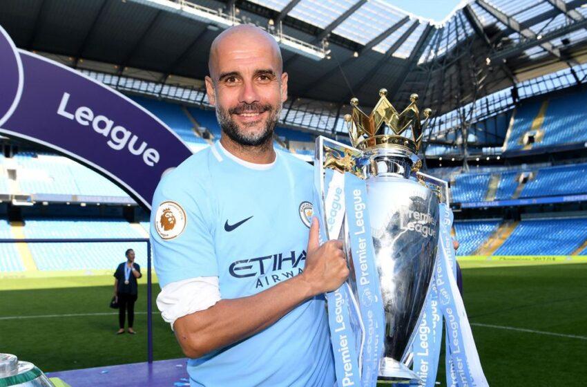 Premier League: Guardiola miglior allenatore dell'anno per la English League Coaches Association