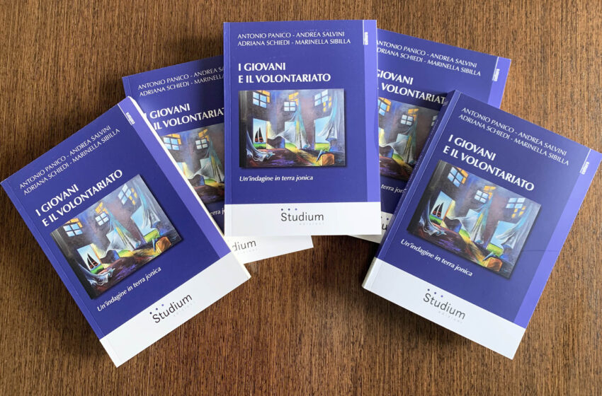 """Taranto:presentazione del libro  """"I Giovani e il Volontariato. Un'indagine in terra jonica"""""""