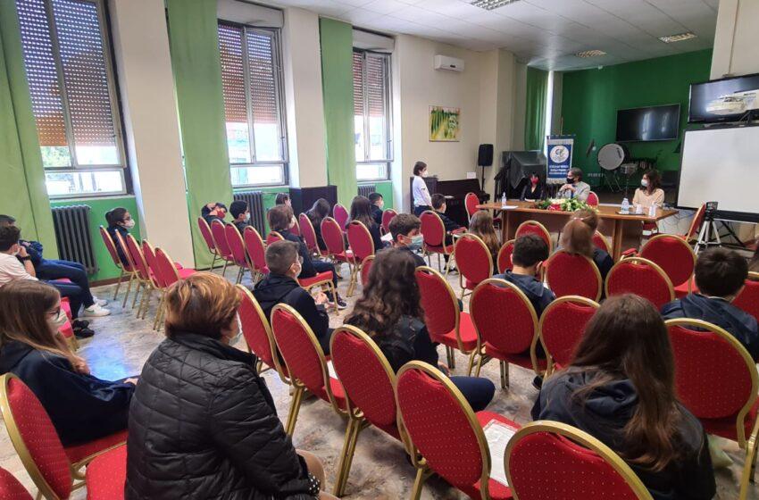 Reggio Calabria: i bambini della 5C dell'Istituto Carducci – Da Feltre intervistano il sindaco