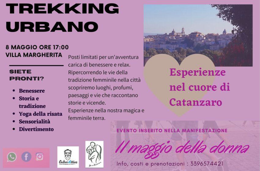 A Catanzaro Trekking Urbano per la Festa della Mamma