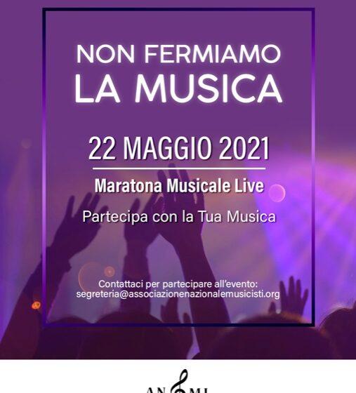 """""""Non fermiamo la Musica"""": l'ANMI promuove la prima maratona in diretta streaming"""