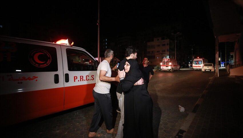 Sale a 35 il bilancio delle vittime degli attacchi israeliani sulla Striscia di Gaza