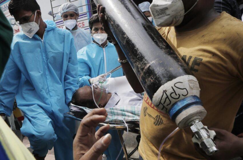 Nuovo record mondiale di casi di COVID-19 giornalieri in India