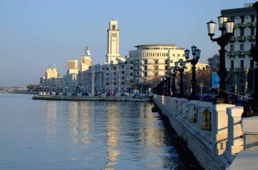 Bari,Arpa Puglia: eccellente la qualità delle acque lungo l'intero litorale cittadino
